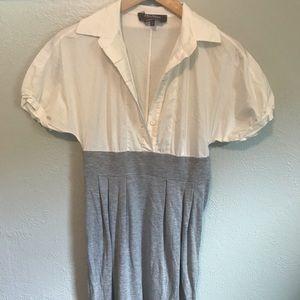 Maxmara French button down shirt dress